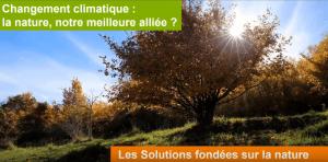 Solutions fondées sur la nature